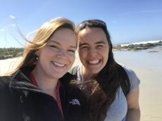 Dr. Sara Branco and I enjoy the Pacific Coast during a break at Asilomar 2015