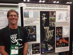 Dr. Terry Henkel presents newly described fungal species from Guyana at MSA 2014, New Haven, CT