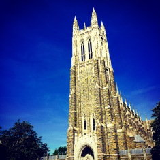Our beloved Chapel on Duke's West campus